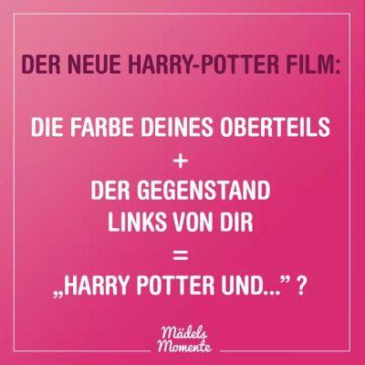 Harry Potter Challenge